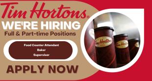 Tim Hortons – Employment Opportunity