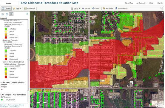 Aerial Imagery After Moore Tornado