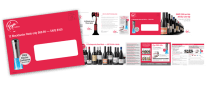 Print Design- Virgin Wines DM