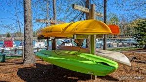 Davidson Landing Kayak Rack