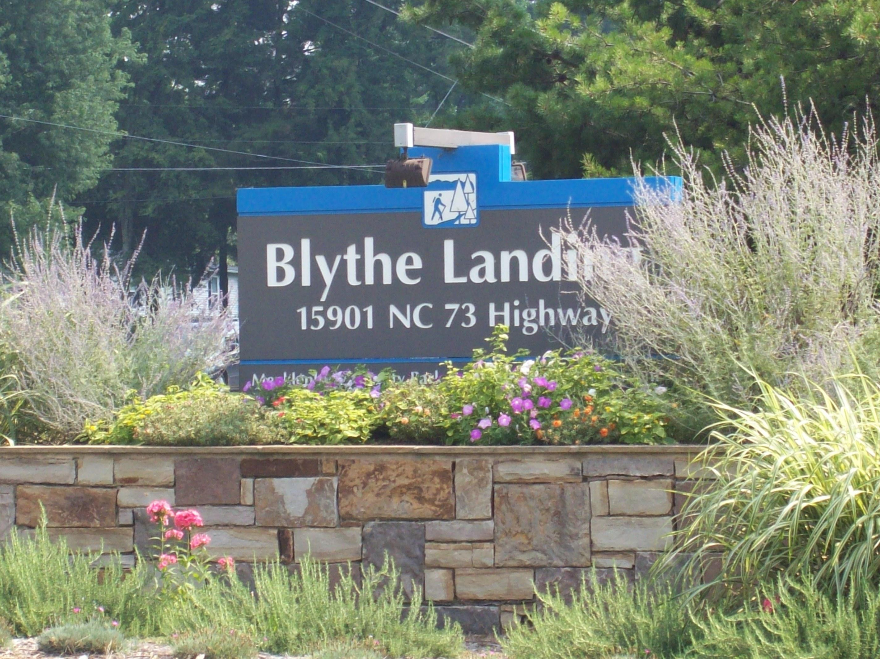 Lake Norman Park Blythe Landing