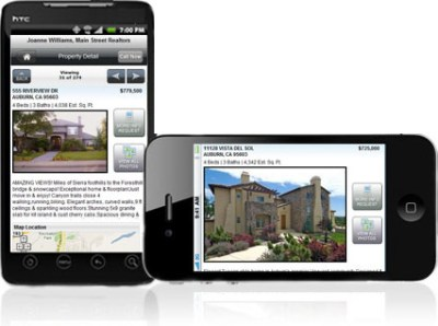 Mobile Real Estate Website