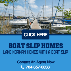Lake Norman Homes with a Boat Slip