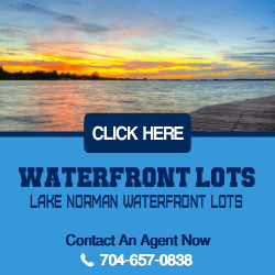 Lake Norman Waterfront Lots For Sale