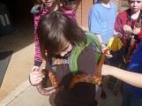 Sawyer with Hawthorne the Corn Snake
