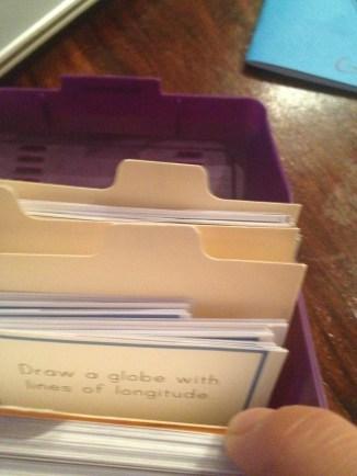 Montessori work cards