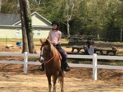 Sawyer is back to riding!!