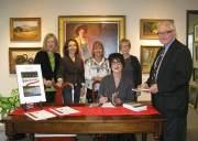 Matthew's Galleries book signing