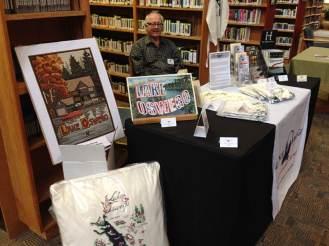 Director Jack Walsdorf at the Lake Oswego Public Library's Storytelling Festival