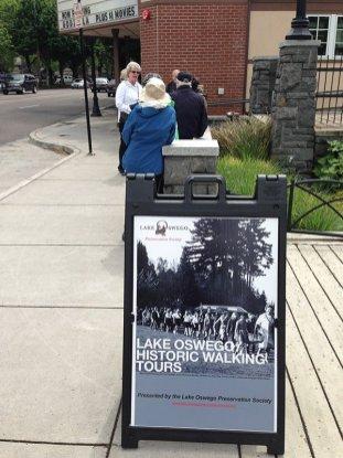 Blockbuster walking tour starting point