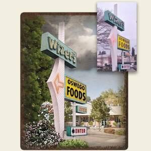 Lake Oswego Wizers Food Sign