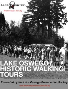 walking tour poster