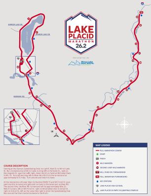 lake placid marathon full course map