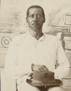 Pension files sometimes contain photographs of claimants, like this one of John Gordon who joined the 11th Louisiana Infantry in 1863. Gordon was a slave on George Falls plantation on Deer Creek in Washington County, Mississippi. The rare discovery was made by Linda Barnickel while researching her book on Milliken's Bend.