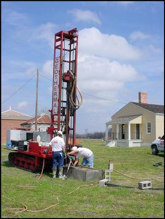 Drilling wells in geothermal field