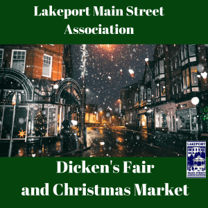 Lakeport Main Street Association Dicken's Fair and Christmas Market