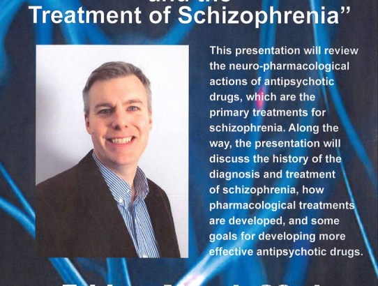 Scholar Series:  Dr. Adam Prus - Psychopharmacology and the Treatment of Schizophrenia