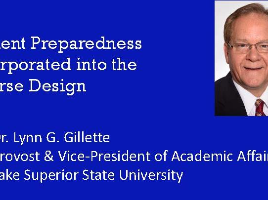 Dr. Lynn Gillette - Active Learning & Class Preparation Assignment (CPA's)