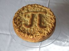 Pi pie for Pi Day