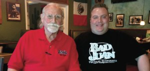 Elsa's owner Bill Hemmert, left, and his son Justin, general manager of the Lutz restaurant.