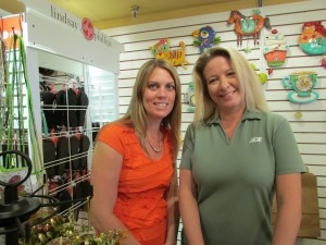Andrea Andrews, left, and Tina Andrews manage ELLA Boutique, a gift shop that changes merchandise seasonally to offer timely gift and décor items. Andrea is married to Todd Andrews, and Tina is married to Scott Andrews.