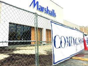 Marshalls will open this summer with space at Village Lakes Shopping Center that used to be home for Walmart. It's strategically located in the same plaza as its primary competitor, Ross Dress for Less. (Michael Hinman/Staff Photo)