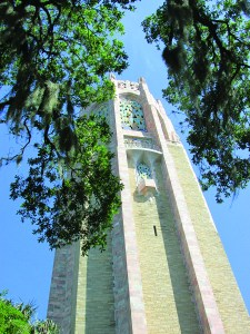 The 205-foot Singing Tower is the architectural centerpiece of Bok Tower Gardens. Those who enjoy fine craftsmanship will find plenty to appreciate, and those who enjoy carillon music can enjoy two half-hour concerts daily. (B.C. Manion/Staff Photo)