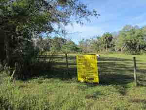 Charter Schools Inc. of Boca Raton has filed a request with Hillsborough County to use an 8.4-acre parcel at the southwest quadrant of Lutz Lake Fern Road and Sunlake Boulevard for an elementary charter school that would accommodate up to 1,020 students. Opposition to that plan is mounting, said Michael White of the Lutz Citizens Coalition. (B.C. Manion/Staff Photo)