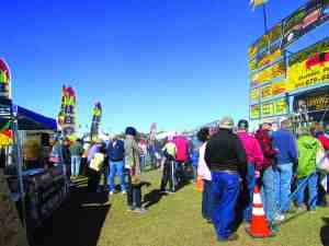 There will be plenty of vendors, but people will still line up for their favorites. (File Photo)