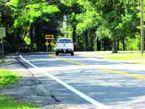 Motorists driving along a 1.7-mile stretch of Lutz Lake Fern Road will have a smoother ride once a resurfacing project is completed. Hillsborough County officials expect the work to be finished by March 20, barring any weather issues. (B.C. Manion/Staff Photo)