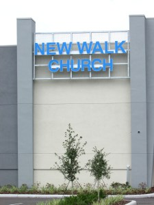 Those driving by New Walk Church on State Road 54 may have wondered what was being built on that road. Now, they know. (B.C. Manion/Staff Photos)