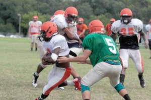 Zephyrhills practiced hard before the season started, and have been rewarded with a 7-2 record. But, even over the summer, the players knew the season-ender against Pasco was going to be an important game.