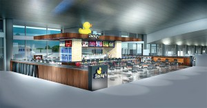 Ducky's is among the newest restaurants to be added to Tampa International Airport's lineup of eating establishments.