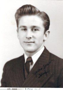Gains Hugh Bailey Sr., when he was young.