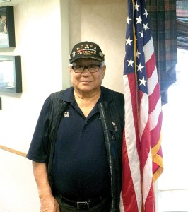 Eddie Ko, 80, visited the Baldomero Lopez State Veterans' Nursing Home on July 26. He worked as a teenage spy during the Korean War. (Kevin Weiss/Staff Photo)