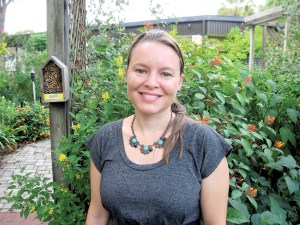 Nicole Pinson is an Urban Horticulture Agent in Hillsborough County. (B.C. Manion/Staff Photos)