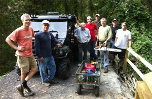 Lake Roland Trails Team