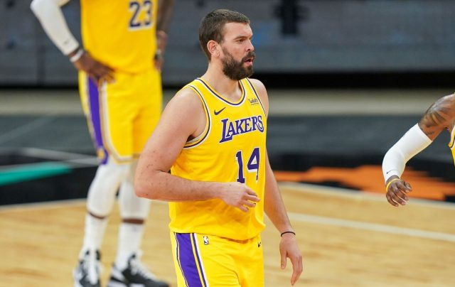 Report: Lakers in market for big man because Marc Gasol experience hasn't  gone as well as hoped - Lakers Daily