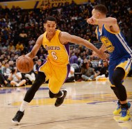 Jordan Clarkson matching up against reigning 2 times MVP Steph Curry