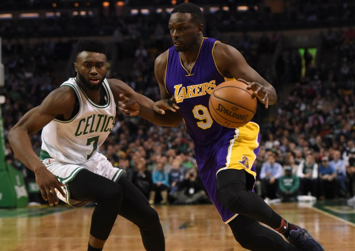 NBA: Los Angeles Lakers at Boston Celtics