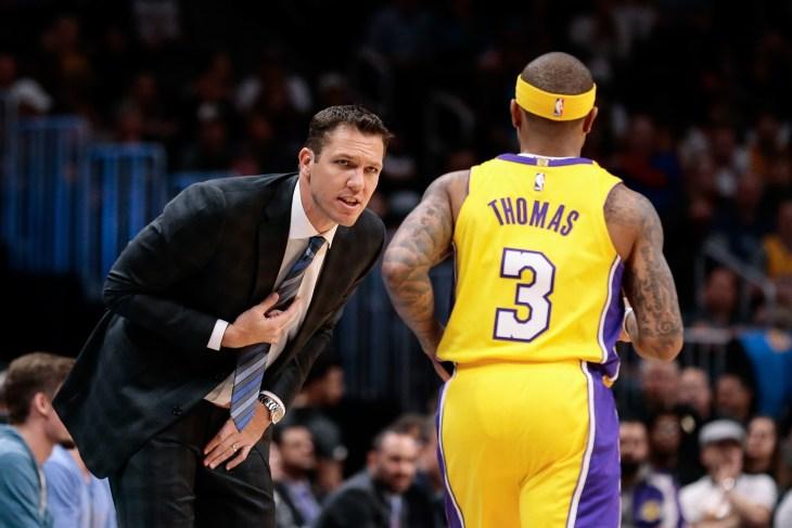 NBA: Los Angeles Lakers at Denver Nuggets