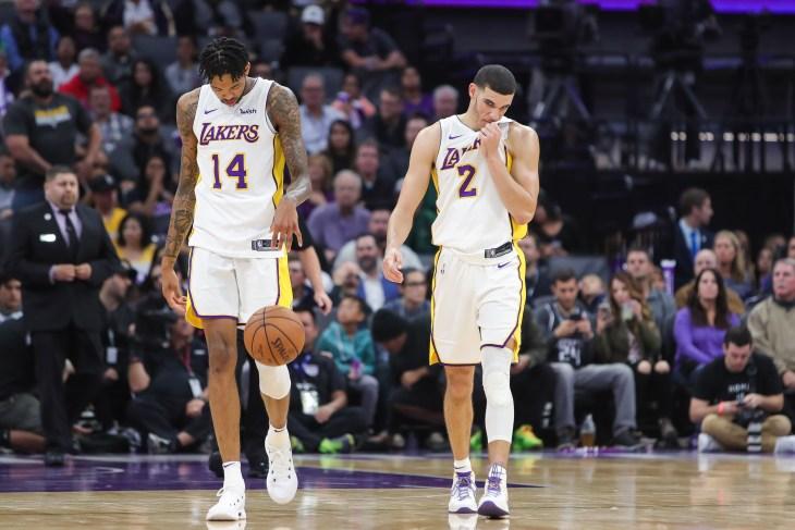 NBA: Los Angeles Lakers at Sacramento Kings