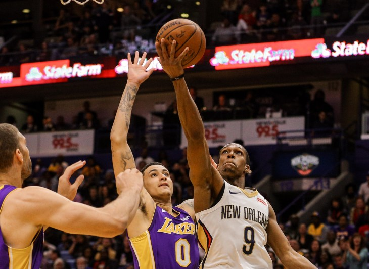 b49e91c91 NBA  Los Angeles Lakers at New Orleans Pelicans