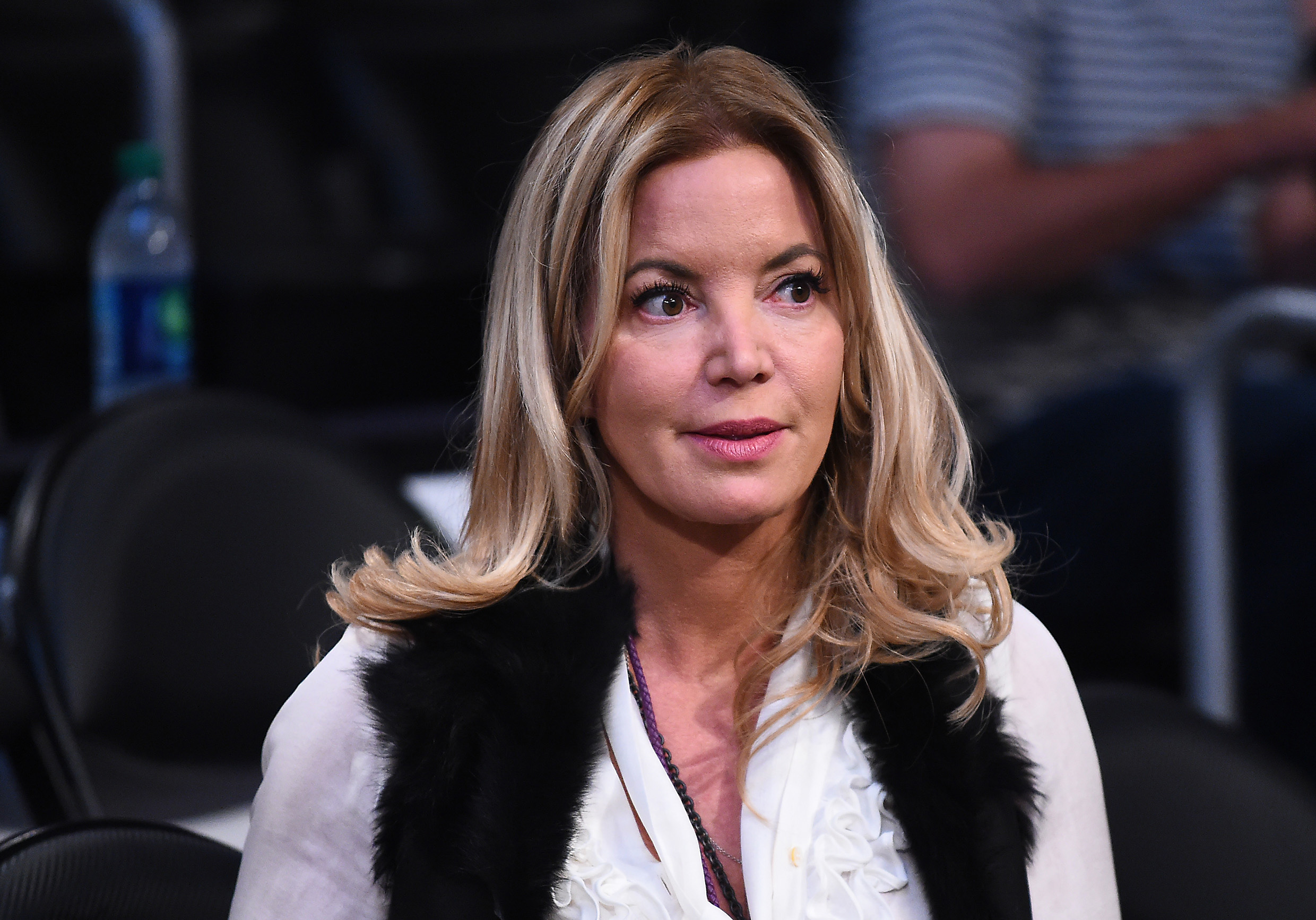33fac3ba7f3 Report  Jeanie Buss considered trading LeBron James after Anthony ...