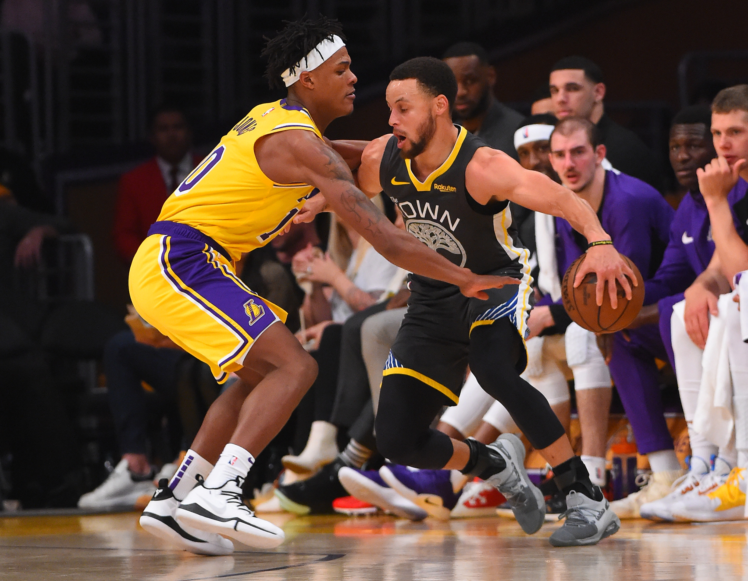 ecb50c2f19a3 Jemerrio Jones is hopefully here to stay with the Lakers - Lakers ...