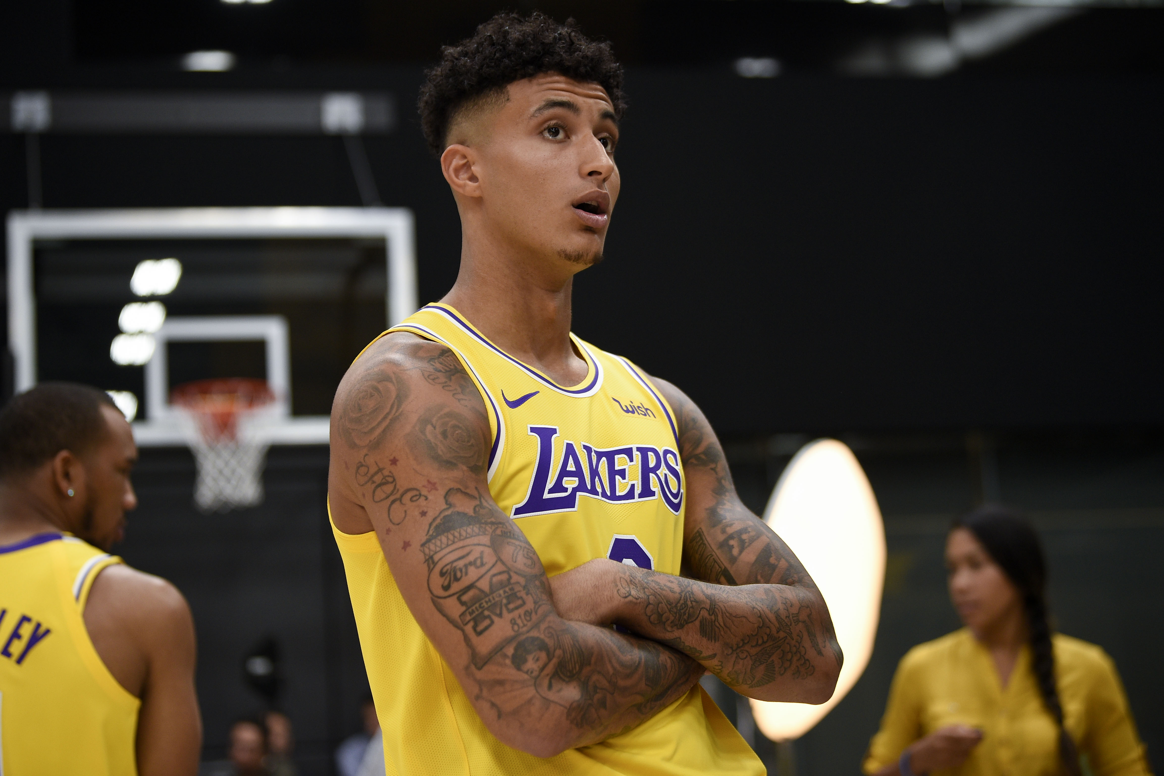 Kyle Kuzma draws inspiration from late rapper Nipsey Hussle, wants to help  community through Puma deal - Lakers Outsiders