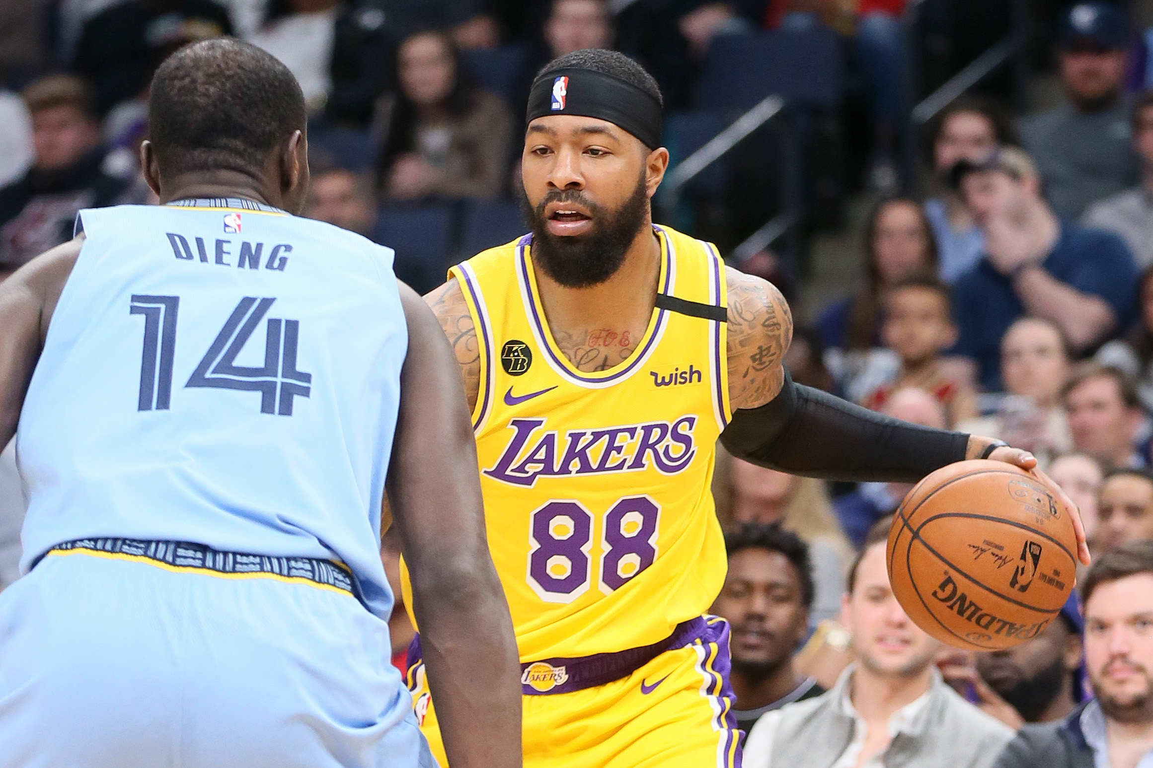 Vogel Markieff Morris Out Today Expected To Play In Third Lakers Scrimmage Lakers Outsiders