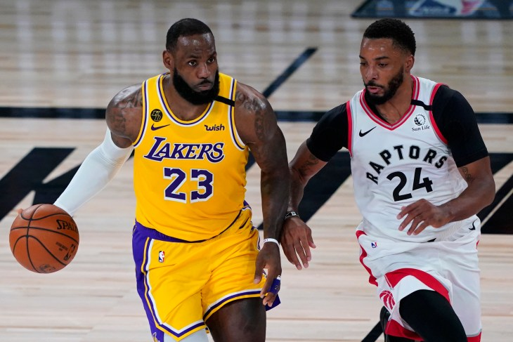 NBA: Los Angeles Lakers at Toronot Raptors