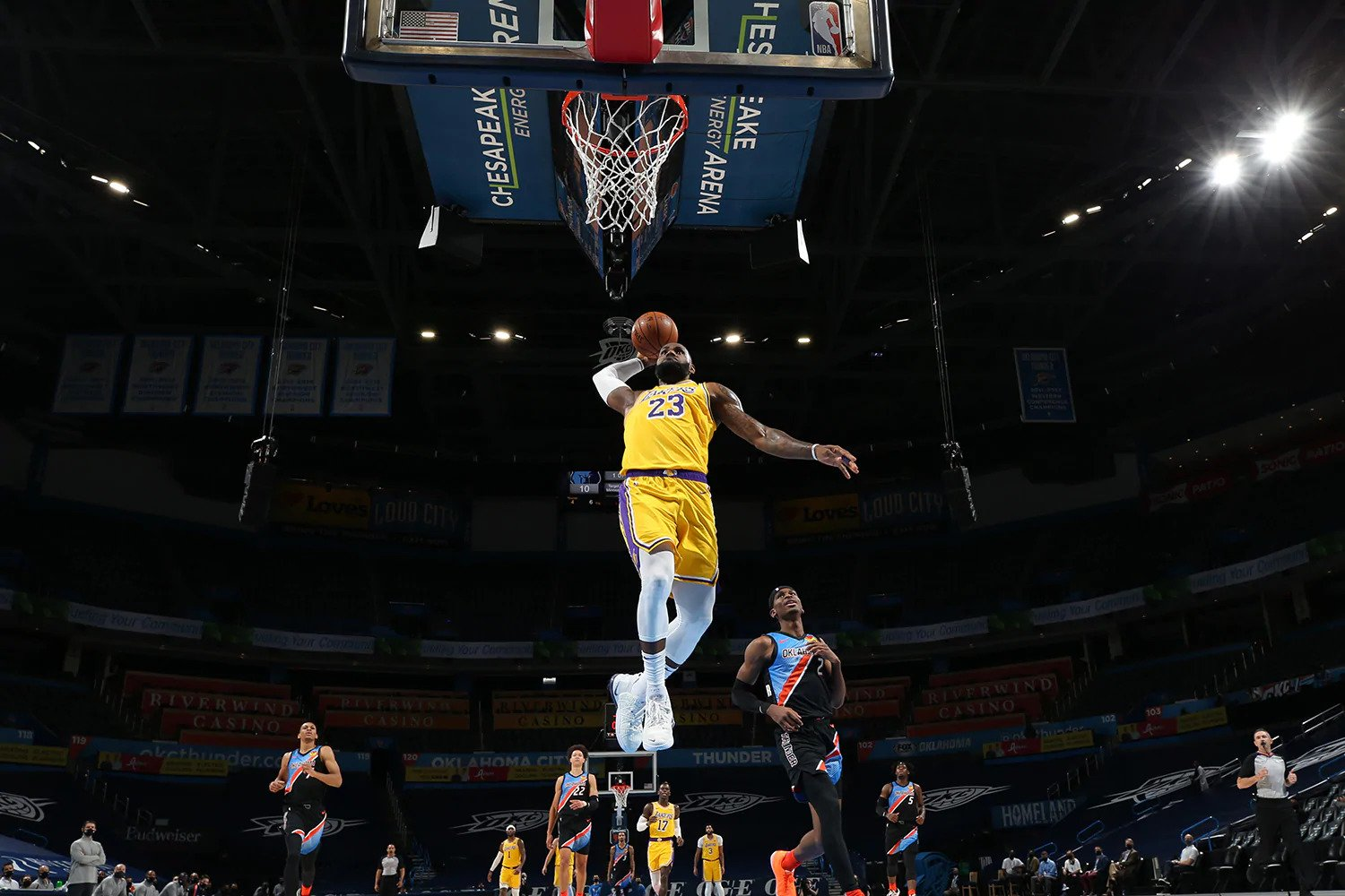 """LeBron James says Lakers have """"bunker menality"""" on the ..."""