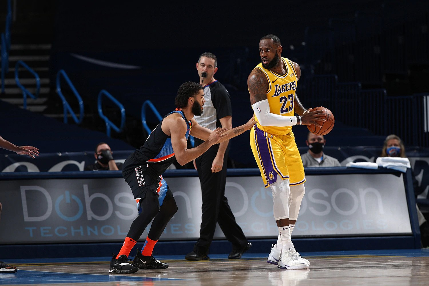 Recap: Lakers lock down Thunder in another OT thriller